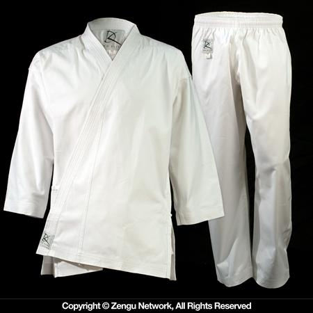 11 oz White Heavyweight Karate Uniform